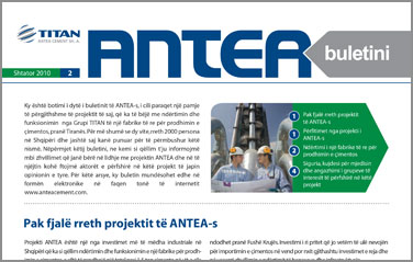 Newsletter 2nd Issue 2010