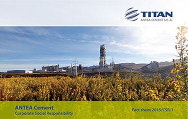 ANTEA 2014/CSR/1<br>Corporate Social Responsibility