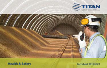 ANTEA 2015/HS/1<br>Health & Safety